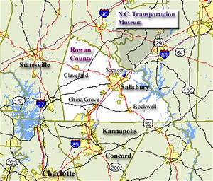 Rowan County Map