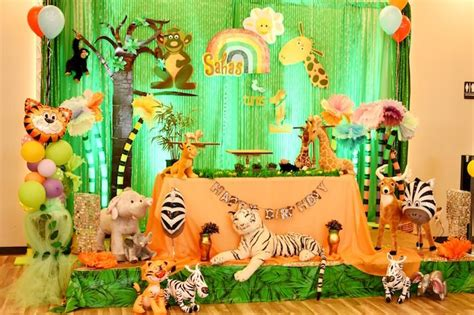Jungle Safari Birthday Party Safari theme birthday