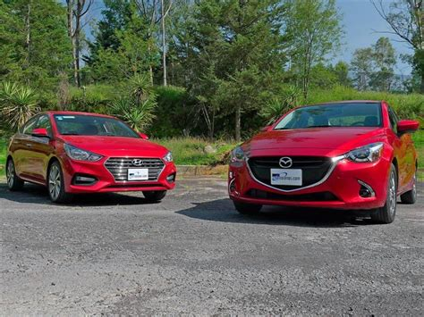 frente  frente mazda  sedan   hyundai accent