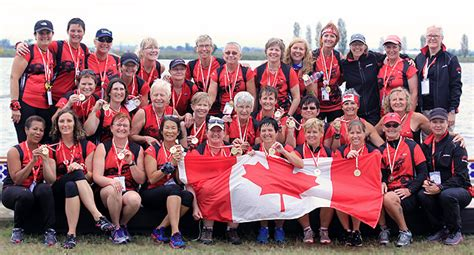 Dragon Boat Racing London Ontario by Dragon Boat Race Team Tastes Gold For Canada