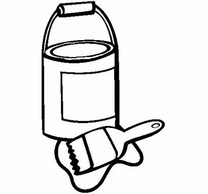 Paint Lacquer Coloring Pages Colouring Brush Colorear