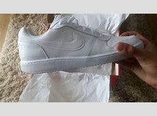 best sneakers 9b6d5 685a9 ... Nike Court Borough White Low Top Sneaker Review Unboxing