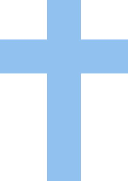 Christening Blue Cross Clipart  Clipart Suggest