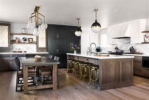 Eclectic Transitional Kitchen