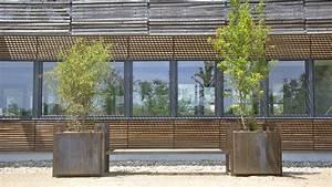 c cube mobilier urbain bancs bacs meuble du jardinier et With meuble urbain