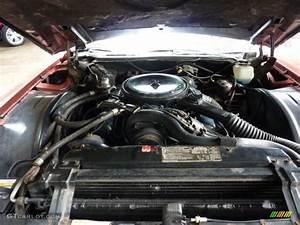 1976 Cadillac Eldorado Convertible 500 C I  V8 Engine