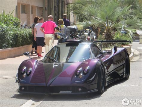 pagani zonda 760 lh spotted in monaco front side ...