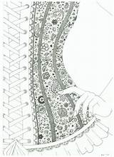 Lace Corset Coloring Deviantart Wish Drawing Adult Draw Colouring Drawings Mindfulness Corsets Dessins Tutorial Comment Choker Butterfly Patterns Oriental July sketch template