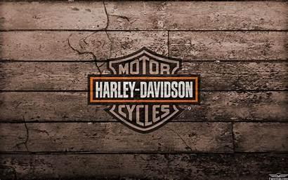 Harley Davidson Desktop Wallpapers Orange Outline Skull