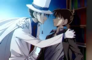 Kaito Kid and Shinichi! | Detective Conan | Pinterest | Kaito