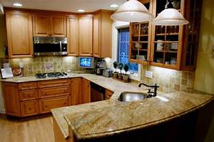 ideas for small kitchens kitchens small kitchens home With interior design ideas for small kitchens
