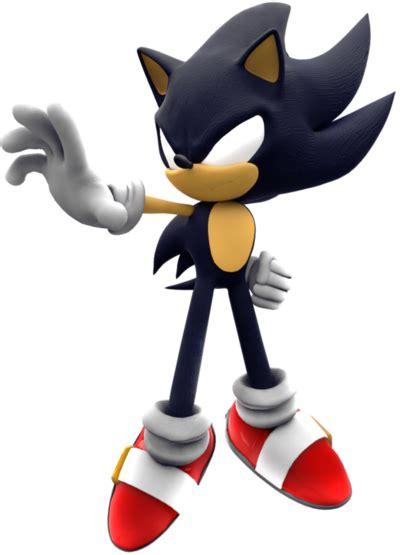 Dark Super Sonic the Hedgehog