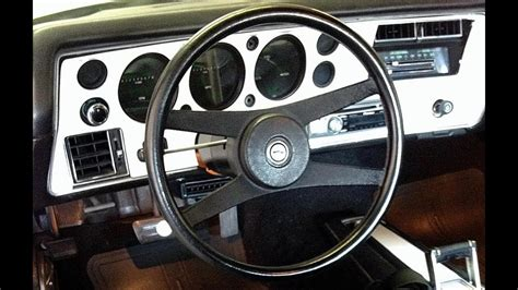 monte carlo ls dash sold  musclecarjr youtube