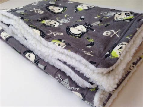 Zombie Flannel Blanket, Dog Blanket, Halloween Zombie, Zombie Bed
