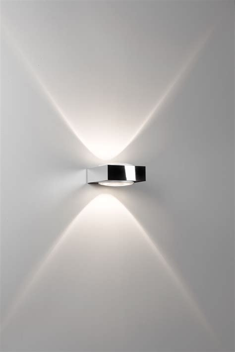 deltalight wandleuchte vision led weiss chrom