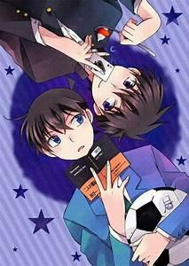 Shinichi and Kaito | Detective Conan | Kaishin | Pinterest ...