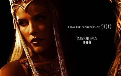 Immortals Movies Wallpapers Athena Isabel Lucas Hollywood