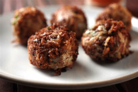boudin balls boudin balls recipe chow com
