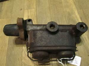 1968 Nova Chevy Ii 2 Door Manual Brake Master Cylinder