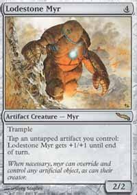 Myr Deck Mtg Tappedout by Lodestone Myr Mm2 Mtg Card