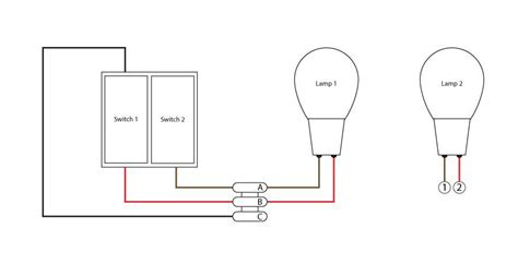 Connecting Double Switch Seperate Lights Diynot