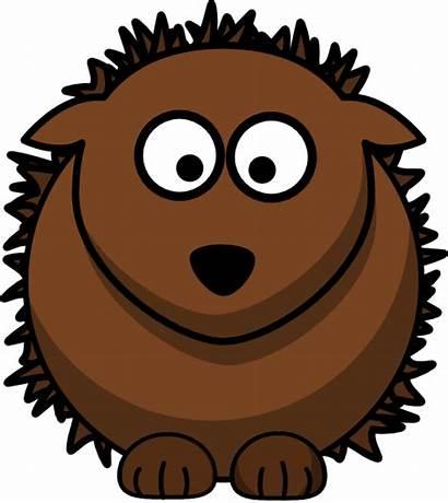 Hedgehog Clipart Clip Cartoon Clker Vector Cliparts