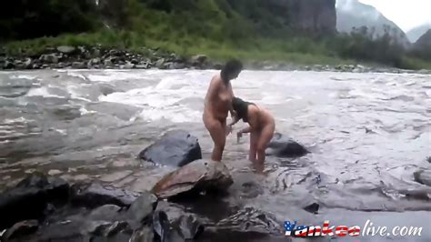 Two Indian Mature Womens Bathing In River Naked Eporner