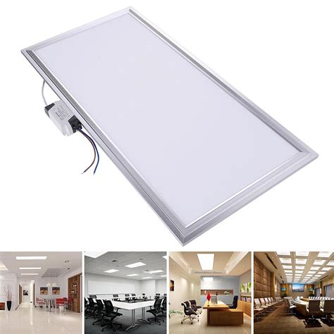 24w led recessed ceiling panel light bright bulb