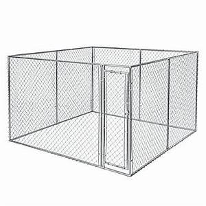Fencemasterr 2 in 1 dog kennel dog houses pens petsmart for Petsmart dog kennels
