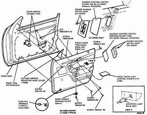 How Do I Remove The Inside Door Panel Of My 1991 Mercury Cougar Ls