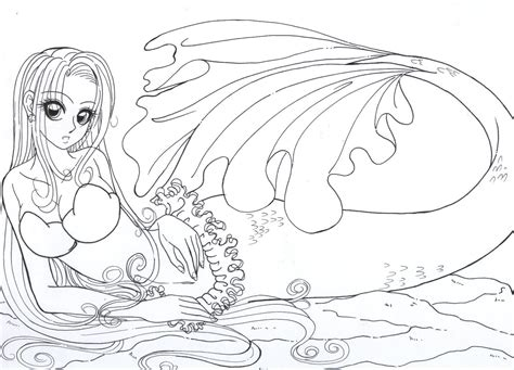 mermaidcolour   resiove  deviantart syrene