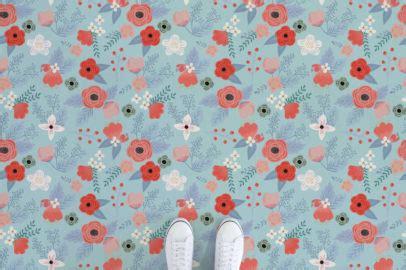 floral vinyl flooring atrafloor
