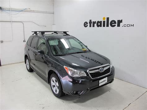 subaru forester roof rack 2016 subaru forester thule aeroblade edge roof rack for