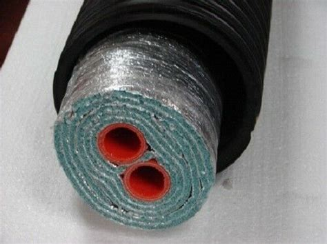 insulated outdoor furnace oxygen barrier  wrap