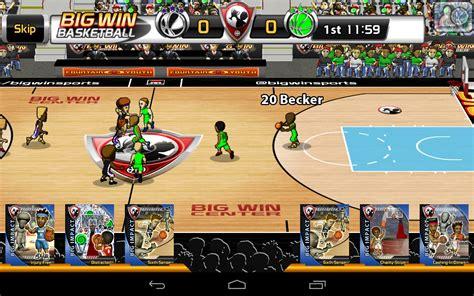 big win basketball games  android