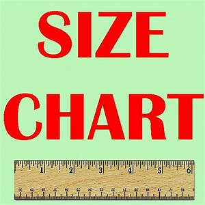 Size Chart Home