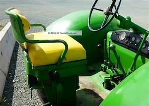 830 John Deere Tractor 1959 Standard Diesel Wheatland Ie