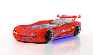 12v Dc Led Lights by Mvn1 Racer Red Race Car Beds For Kids Buy Kids Beds