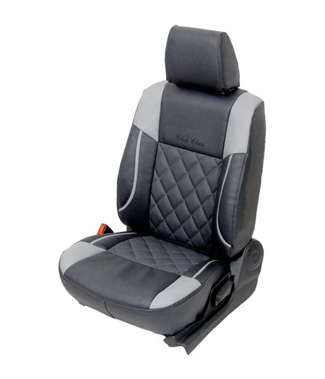 Club Class Grey Pu Leather Seat Cover For Maruti Alto K10