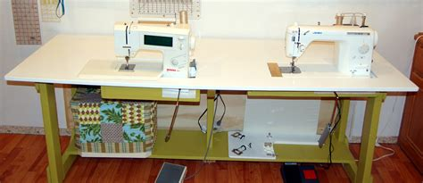 sewing machine desk my new sewing table candied fabrics