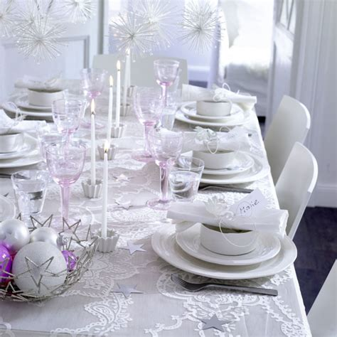 white christmas table decorating 171 interior design files