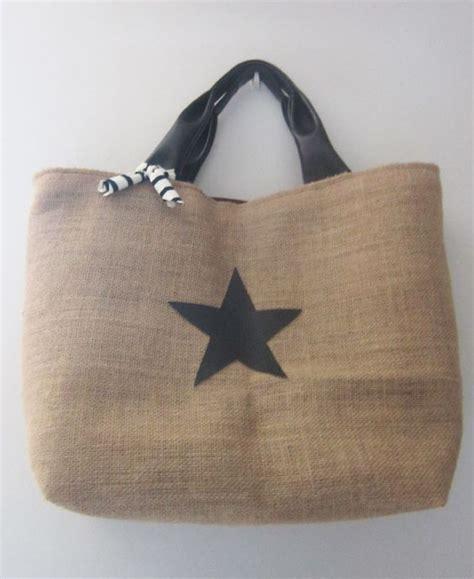 cabas en toile de jute sac bags inspiration and pots