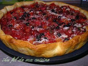 recettes cuisine laurent mariotte recette tarte aux fruits rouges de laurent mariotte