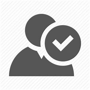 Man, ok, profile, user, validate, validation icon | Icon ...