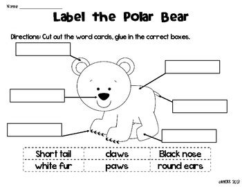 arctic animals label me sheets by creative classroom 333 | original 481148 1