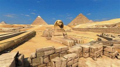 Sphinx Pyramid Oil 4k Canvas Wallpapers Background