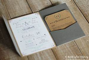 diy faire part vintage boheme pour votre mariage sur With diy wedding invitations illustrator