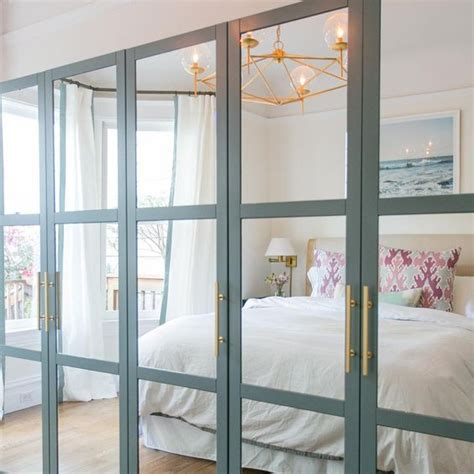 Bedroom Wardrobe Fronts 35 ikea pax wardrobe hacks that inspire digsdigs