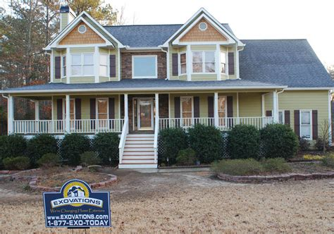 Before & After House Facelift Photos  Exovations