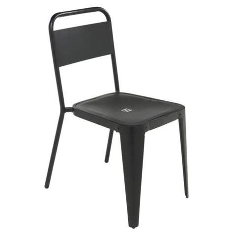 carrefour chaise de jardin indus m 233 tal noir pas